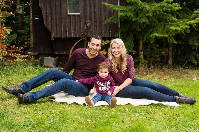 Familienfotografie sollte am besten draußen in der Natur statt finden