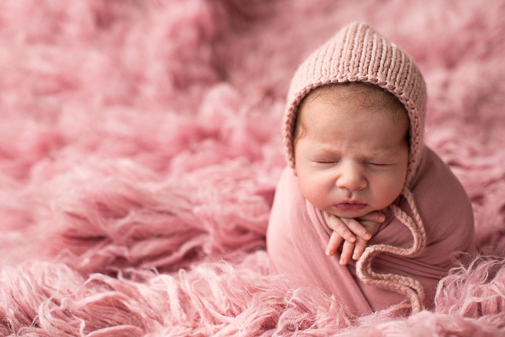 Baby Fotoshooting Esslingen Mädchen