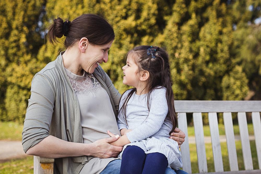 Schwangerschaftsshooting mit Geschwisterchen Stuttgart