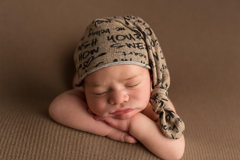 Fotoshooting mit neugeborenem Baby