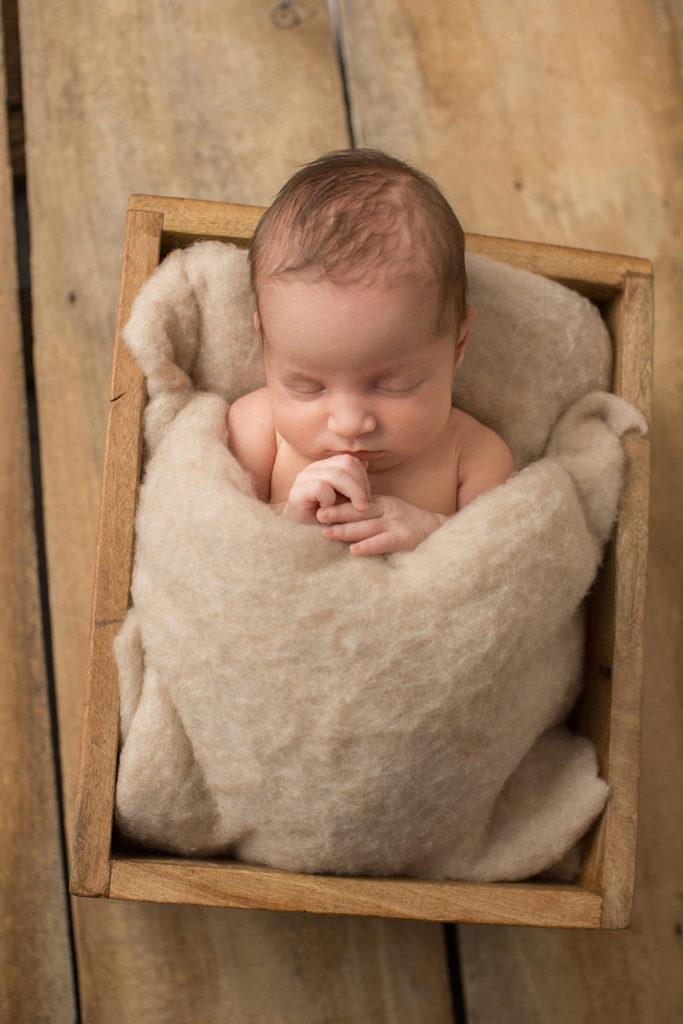 Neugeborenen Fotos in den ersten Tagen