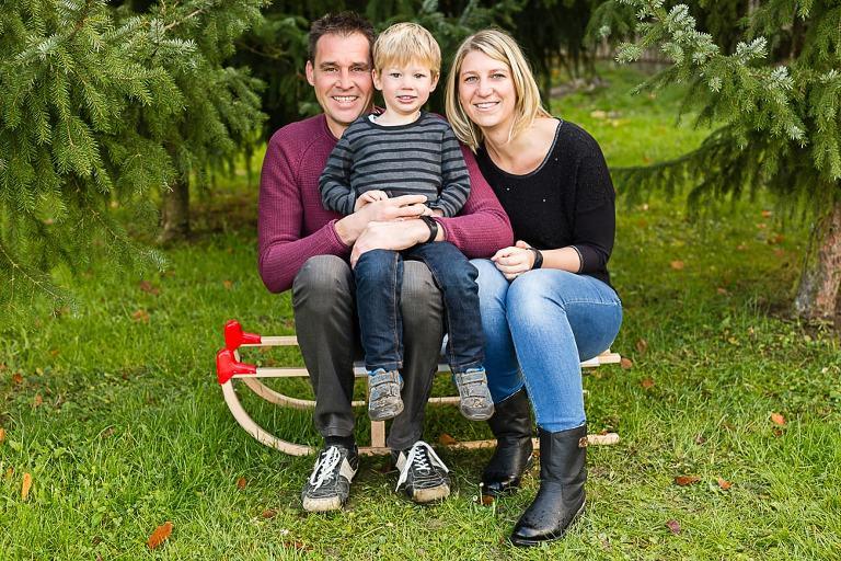 Familien Fotos zu Weihnachten in Esslingen