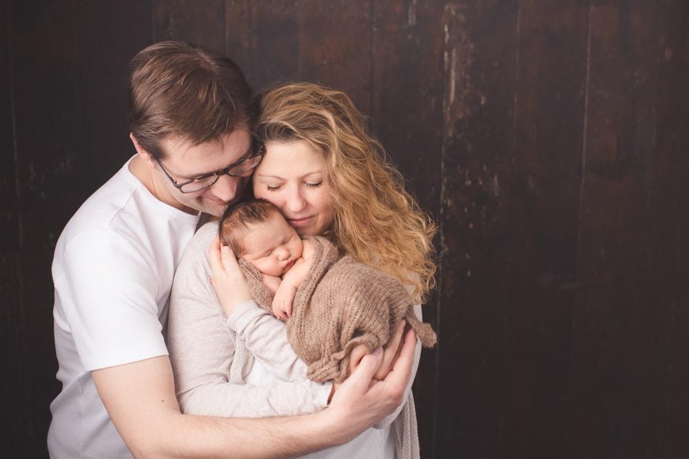 Neugeborenen Shooting als Familie Stuttgart