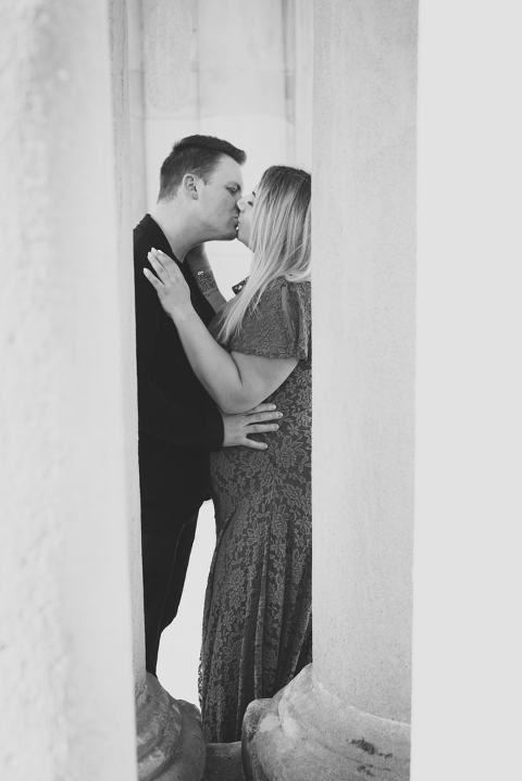 Babybauch Fotoshooting als Paar in Stuttgart
