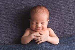 Baby Bilder direkt nach der Geburt