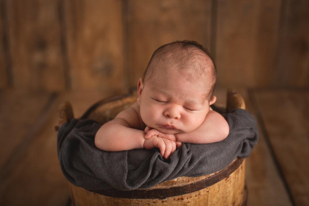 natürliche und zeitlose Babyfotografie Esslingen