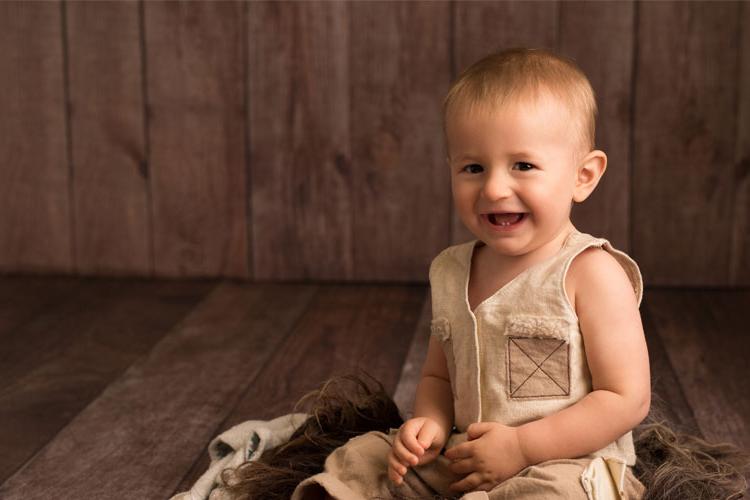 Babyfotos im ersten Lebensjahr
